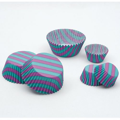Stripes Bon Ton Cake Cups